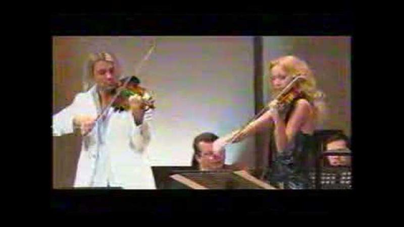 Bach Double Concerto (movt. 1) by Xenia and David Garrett