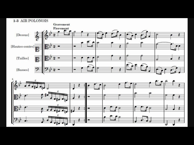 Jean Philippe Rameau Les Indes Galantes orchestral suite