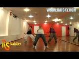 HIP HOP online Lesson - Школа танцев RAISKY - Ксюша Суши