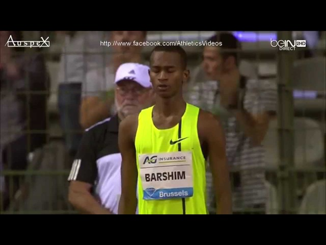 High jump full contest Brussels 2014 (Barshim 2.43m)
