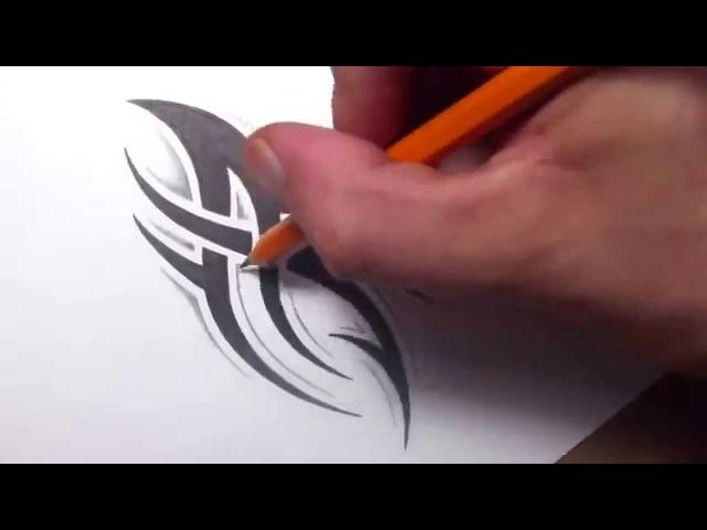 Как рисовать эскизы узоров тату