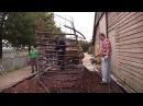 Обогрев помещения при помощи компоста - JEAN PAIN. Biomeiler Dätgen September 2011