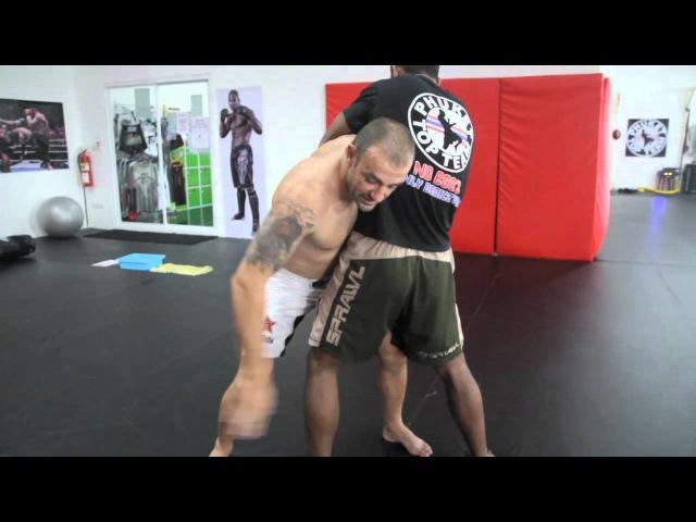 Sambo Wrestling Takedown From The Clinch - Silviu Vulc @ Phuket Top Team