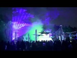 Trimurti Festival 2014 Laser installation at Chillout and Main Dancefloor