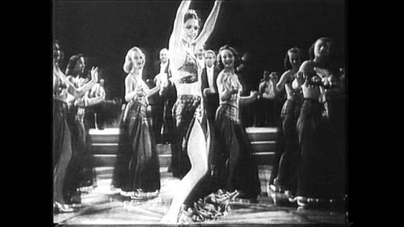 Elfie Mayerhofer Tanzgirls Ich möchte reich sein Szene aus Das himmelblaue Abendkleid 1940 смотреть онлайн без регистрации