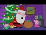 Kids English NEW Peppa Pig 2015 Christmas Show Episode