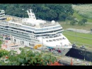 Travel by cruise ship to Panama Canal (HD)