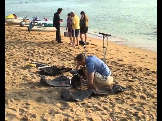 МОТОСАМОКАТ - АМФИБИЯ в Таиланде 2007
