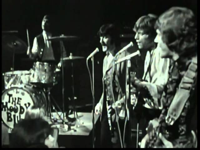 The Moody Blues - Nights in white satin ( Rare Original Live Footage French TV 1968 )