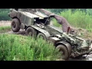ЗиЛ-135 советский колесный вездеход 8х8 монстр бездорожья