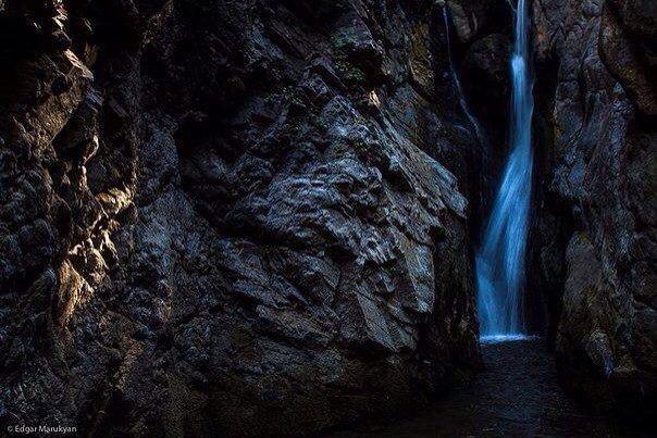 Водопад Цав. Армения.