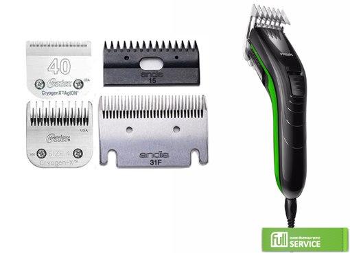 Заточка ножа на машинке для стрижки волос
