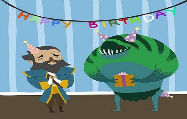 Поздравление с днём рождения дота 2