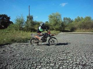 Ендуро сухе озеро
