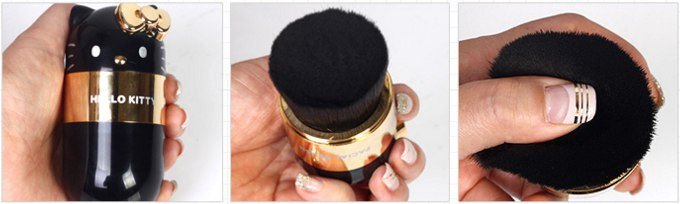 Hello Kitty Facial Brush Black