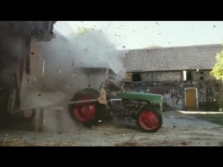 Crazy Driver of the Tractor