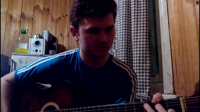 Твои карие глаза - на гитаре