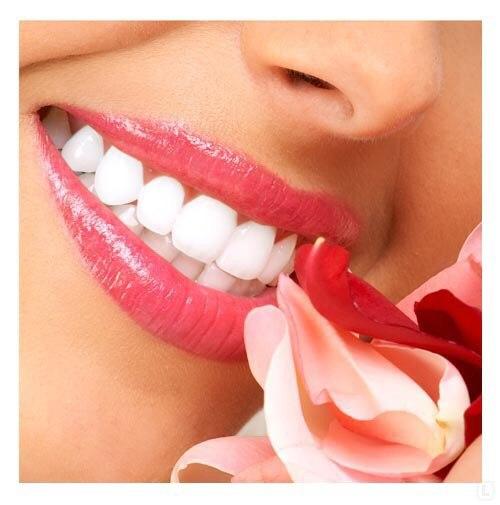 Как сделать зубы на фото белее