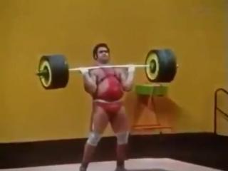 Разумный выбор спортсмена! Василий Алексеев - жим 235 кг