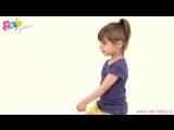 Утренняя гимнастика для ребенка в 2—3 года. Комплекс «Бабочка»