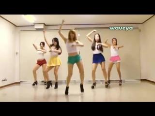 Заразный корейский танец