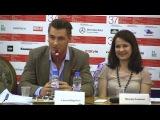 Пресс-конференция ММКФ - актер и композитор фильма