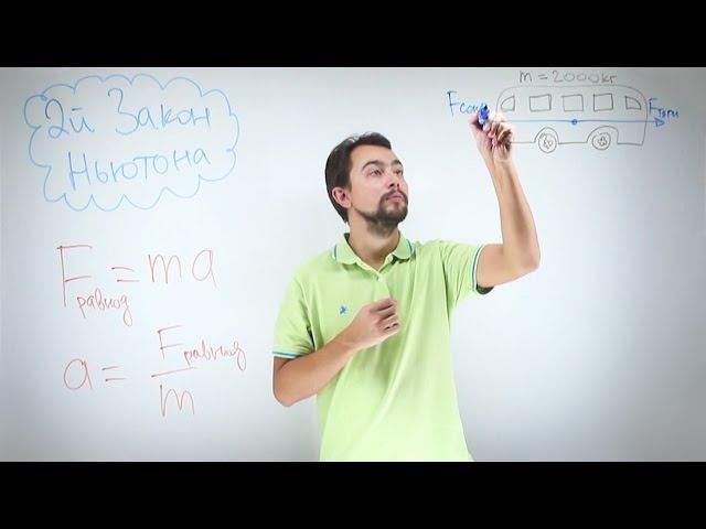 Физика - первый и второй законы Ньютона