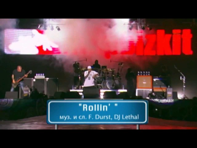 Limp Bizkit - Rollin' (Air Raid Vehicle) [Live in Rock over the Volga 2012 - Pro-Shot] HD
