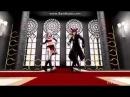 Фокси и мангл аниме танец