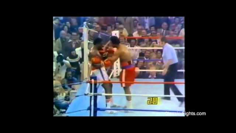 Rounds 4 5 George Foreman vs Ron Lyle 24 01 1976