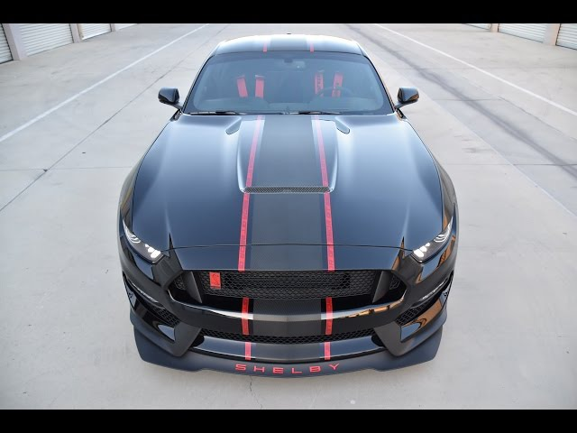 NEW Shelby GT350R with Custom Stripes over Xpel Ultimate by Benjamin Roman @ Bemaro S.F.
