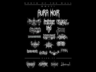 Aura Noir (NOR) - Live at Classic Grand, Glasgow 26th March 2016 FULL SHOW HD