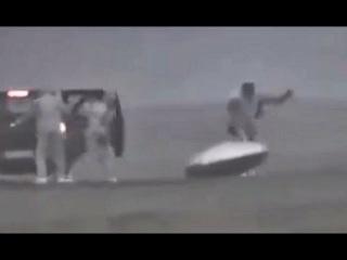 Редкое видео НЛО
