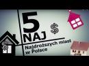 Najdroższe miasta w Polsce 5 Naj