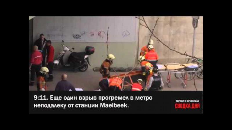 Теракт в Брюсселе: хроника дня (что известно на данный момент)