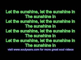 The 5th Dimension - AquariusLet the Sunshine In (with lyrics)