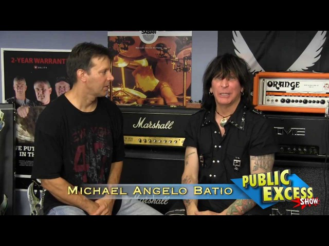 Michael Angelo Batio - Incredible Guitarist - Interview at RI Music Complex 2012
