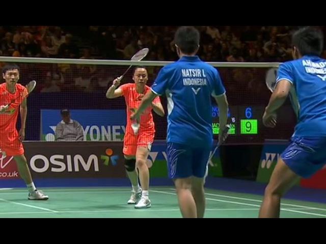 Zhang N./Zhao Y. v T.Ahmad/L.Narsir |XD-F| Yonex All England Open Badminton Champ. 2013