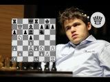 Мог ли Карлсен поймать ферзя? Карякин - Карлсен Бильбао 2016 8 тур Ферзевый гамбит