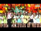 161104 Twice занимают первое место на Music Bank и получают свою четвертую награду с TT.