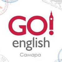 Логотип Go! English / Самара. Курсы английского языка