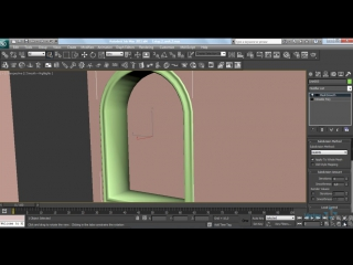 Профессиональное создание интерьеров в 3DS MAX (2014) Видеокурс. Этап 2: Моделирование дверей, проемов, окон, багетов. УРОК 5.