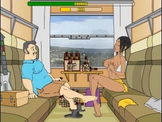 Эротическая флеш игра от m'n'f train-fellow только для взрослых 18+ запрещено для детей!!!!