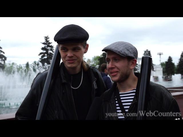 Гопники c битами из Самары на Дримфлеш 2015 ВДНХ в Москве