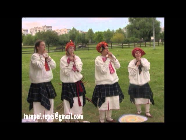 Репей Repei Кугиклы. Музыка. Под мельничкою (Сени).Коломенское.2012