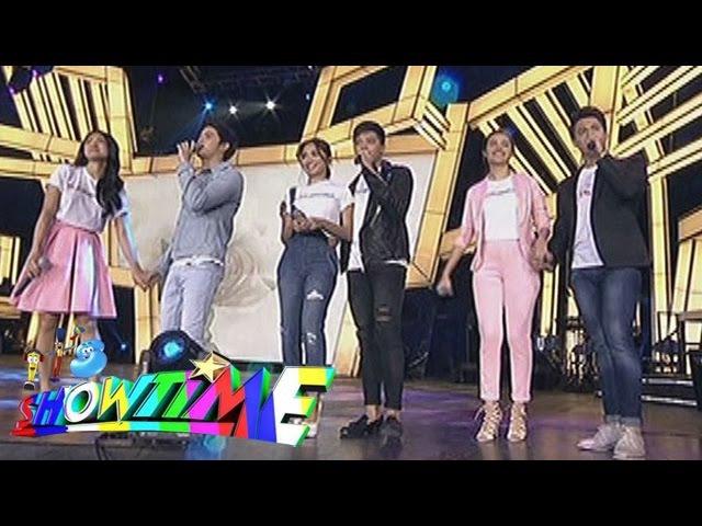 It's Showtime KathNiel LizQuen JaDine Kailan Sa Isang Sulyap Buko on 'Showtime Kapamilya Day'