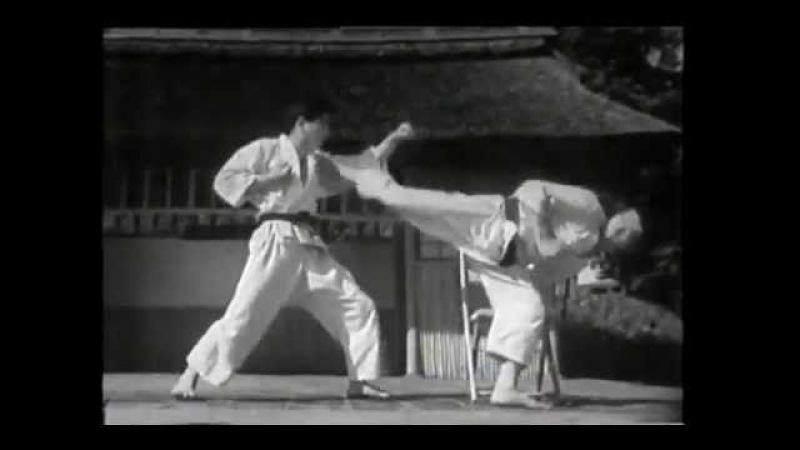 Старі майстри Шотокан карате Прийоми самозахисту