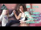 HIIT Total Body UFC Training 30 Minute Workout SuperMOM