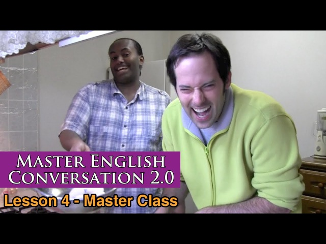 Real English Conversation Fluency Training - Food Baking - Master English Conversation 2.0