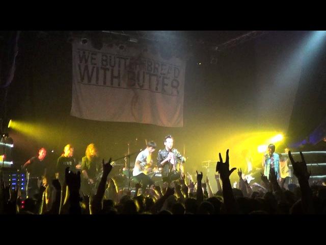 We Butter The Bread With Butter - Der kleine Vampir (live in Minsk - 04.12.13)